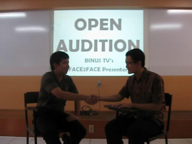 Gunadi's open audition