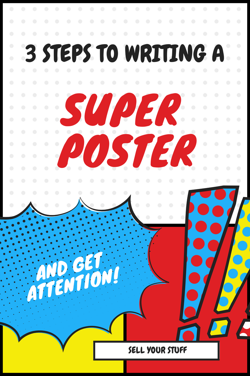 Tips To Write Posters.