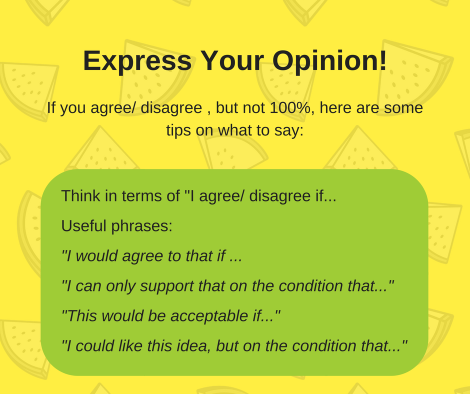 How To Agree/ Disagree