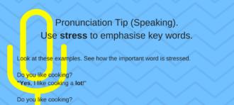 Pronunciation Tip. Sentence Stress