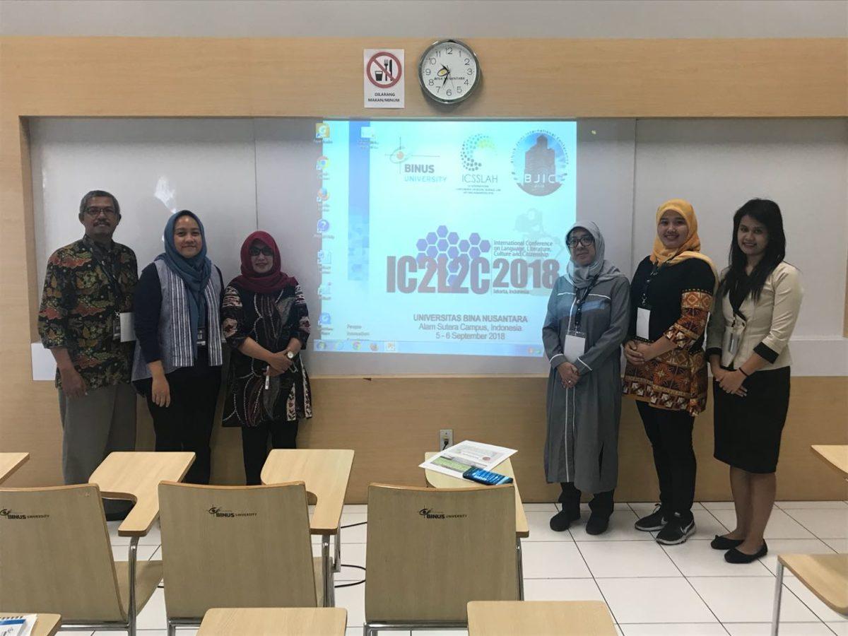 BINUS University. International Conference on Language, Culture and Citizenship.