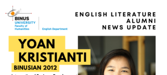Alumni News Update: Yoan Kristianti