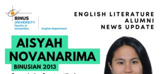 Alumni News Update: Aisyah Novanarima