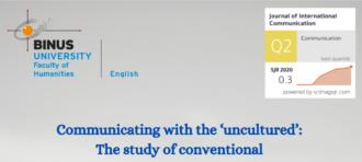 Berapa lama anda belajar di jurusan Sastra Inggris Binus?